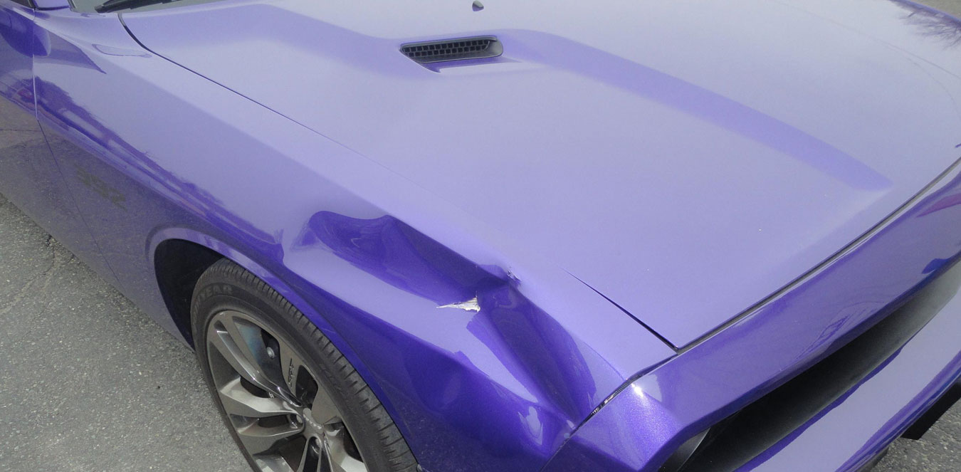 Car Body Dent Insurance Because of Conflict